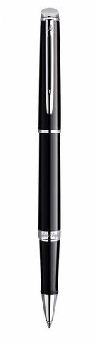 Ручка-роллер Waterman Hemisphere, цвет: Mars Black/CT, стержень: Fblk