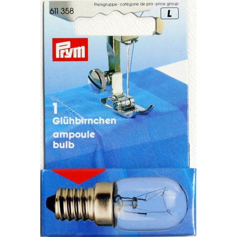 Лампочка завинчивающаяся для швейной машинки PRYM 611358