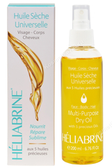 Сухое масло-спрей для лица, тела, волос «Роскошь шелка» (Heliabrine | Линия Satin | Multi purpose Dry Oil), 200 мл