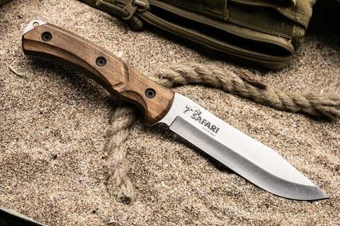 Туристический нож Safari AUS-8 SW
