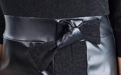 Лидия. Платье плюс сайз для праздника. Черный.