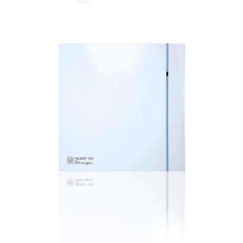 Вентилятор накладной S&P Silent 200 CHZ Design 3C (таймер, датчик влажности)