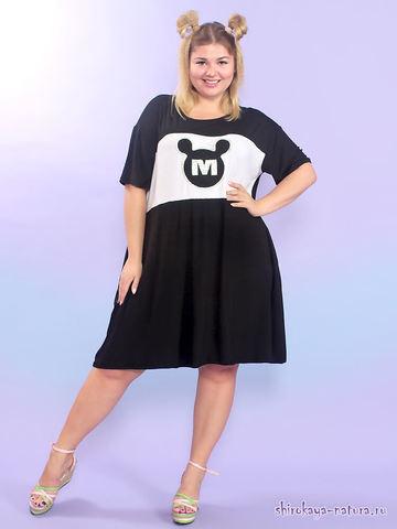 Платье-туника Микки