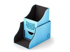 Dragon Shield - Чёрно-синяя коробочка Nest+ с отделением для кубиков (100 карт)