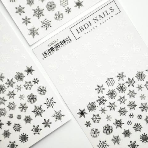 Stiker наклейка ibdi nails 01