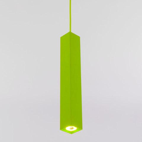 Подвесной светодиодный светильник 50154/1 LED зеленый