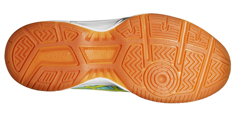 Детские волейбольные кроссовки Asics Gel-Upcourt GS (C413N 7007) бирюзовые