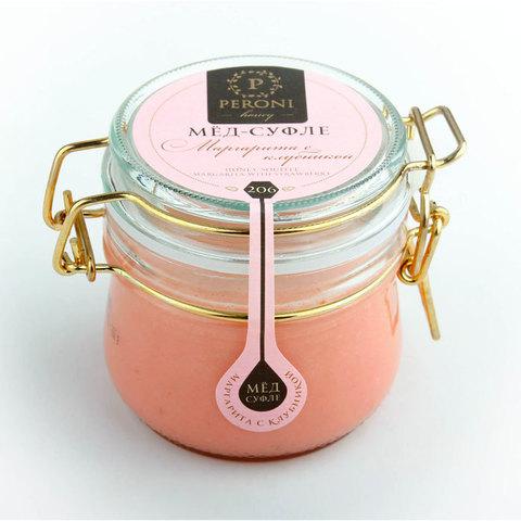 Мёд-суфле Маргарита с клубникой, артикул 206, производитель - Peroni Honey