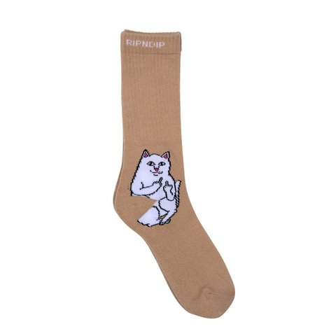 Носки RIPNDIP Lord Nermal (Tan)