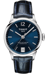 Женские часы Tissot T099.207.16.047.00 Chemin des Tourelles Powermatic 80 Lady