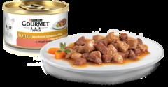 Gourmet Gold Двойное удовольствие утка и индейка 85 г