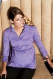 Блузка 01300 бирюзовый