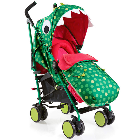 Cosatto Supa Dino Mighty коляска-трость прогулочная