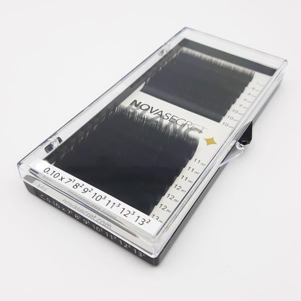 """NovaSecret Ресницы Novasecret BLANC Черные mix, изгиб """"M"""" Ресницы-Новасикрет-Blanc-mix-M.jpg"""