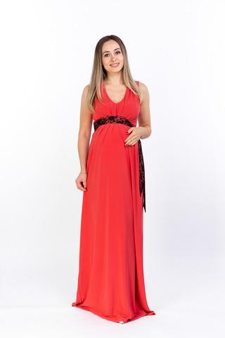 Платье для беременных 05543 красный