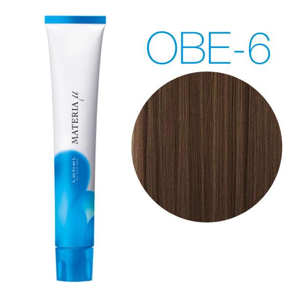 Lebel Materia Lifer OBe-6 (темный блондин оранжево-бежевый) - Тонирующая краска для волос