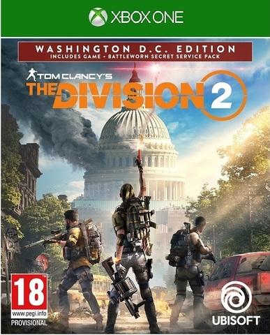 Microsoft Xbox One Tom Clancy's The Division 2. Washington, D.C. Edition (русская версия)