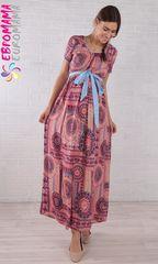 Евромама. Платье длинное для беременных