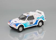 Lada Samara Т3 №206 Rally Raid Paris-Pekin 1995 1:43 DeAgostini Auto Legends USSR Sport #3