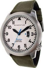 Канадские часы Momentum FLATLINE FIELD White  1M-SP18LS6G