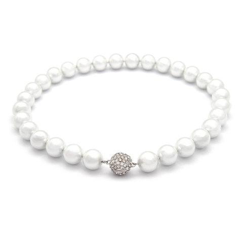 Жемчужное ожерелье  (белое)