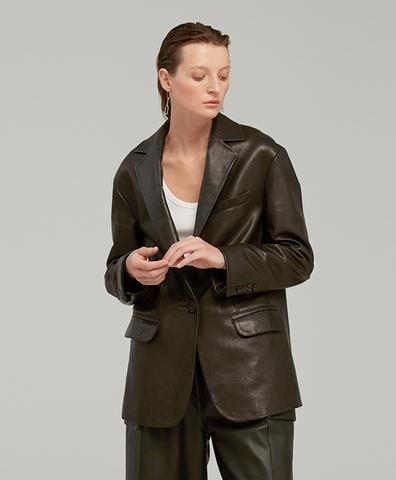 Кожаный пиджак BATS LEATHER JACKET