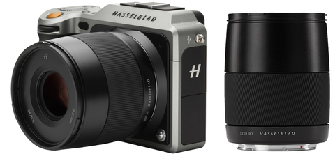 Hasselblad X1D kit XCD 3,5/45MM + XCD 3,2/90mm