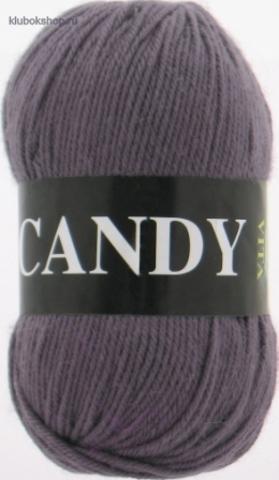 Фото Пряжа Vita: Candy цвет 2522 Серо-коричневый - купить в интернет-магазине