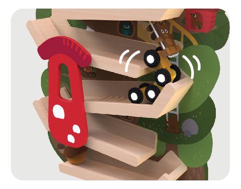 Vertiplay Игрушка на стену- Приключение на вершине дерева
