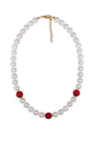 Ожерелье Giorno белое