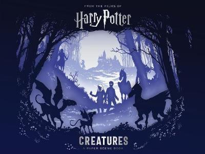 Kitab Harry Potter - Creatures: A Paper Scene Book | Warner Bros.