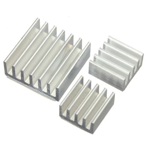 Радиаторы для Raspberry Pi 4 (алюминий)