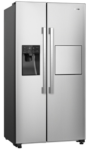 Холодильник side-by-side Gorenje NRS9181VXB