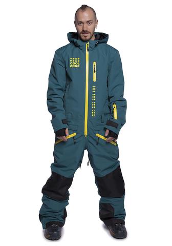 COOL ZONE KITE сноубордический комбинезон мужской болотный