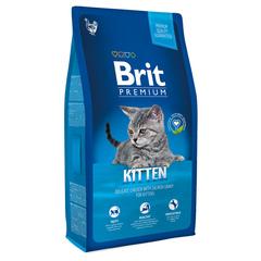 Brit NEW Premium Cat Kitten с курицей в лососевом соусе для котят