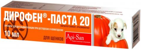 Дирофен-Паста антигельминтик д/соб и щен 10 мл