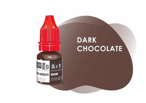 Dark Chocolate (темный шоколад) • Wizart Organic • пигмент для бровей