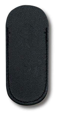 Чехол кожаный Victorinox, черный для ножей 74 мм, толщиной ножа 1-2 уровня