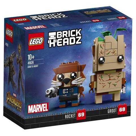 LEGO BrickHeadz: Грут и Ракета 41626 — Groot &Rocket — Лего БрикХедз