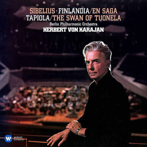 Herbert von Karajan, Berlin Philharmonic Orchestra / Sibelius: Finlandia - En Saga, Tapiola - The Swan Of Tuonela (2LP)