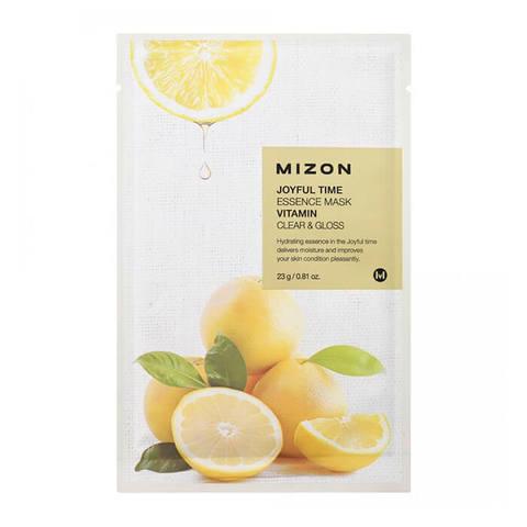 Mizon Joyful Тканевая маска для лица с экстрактом витамина С 23г