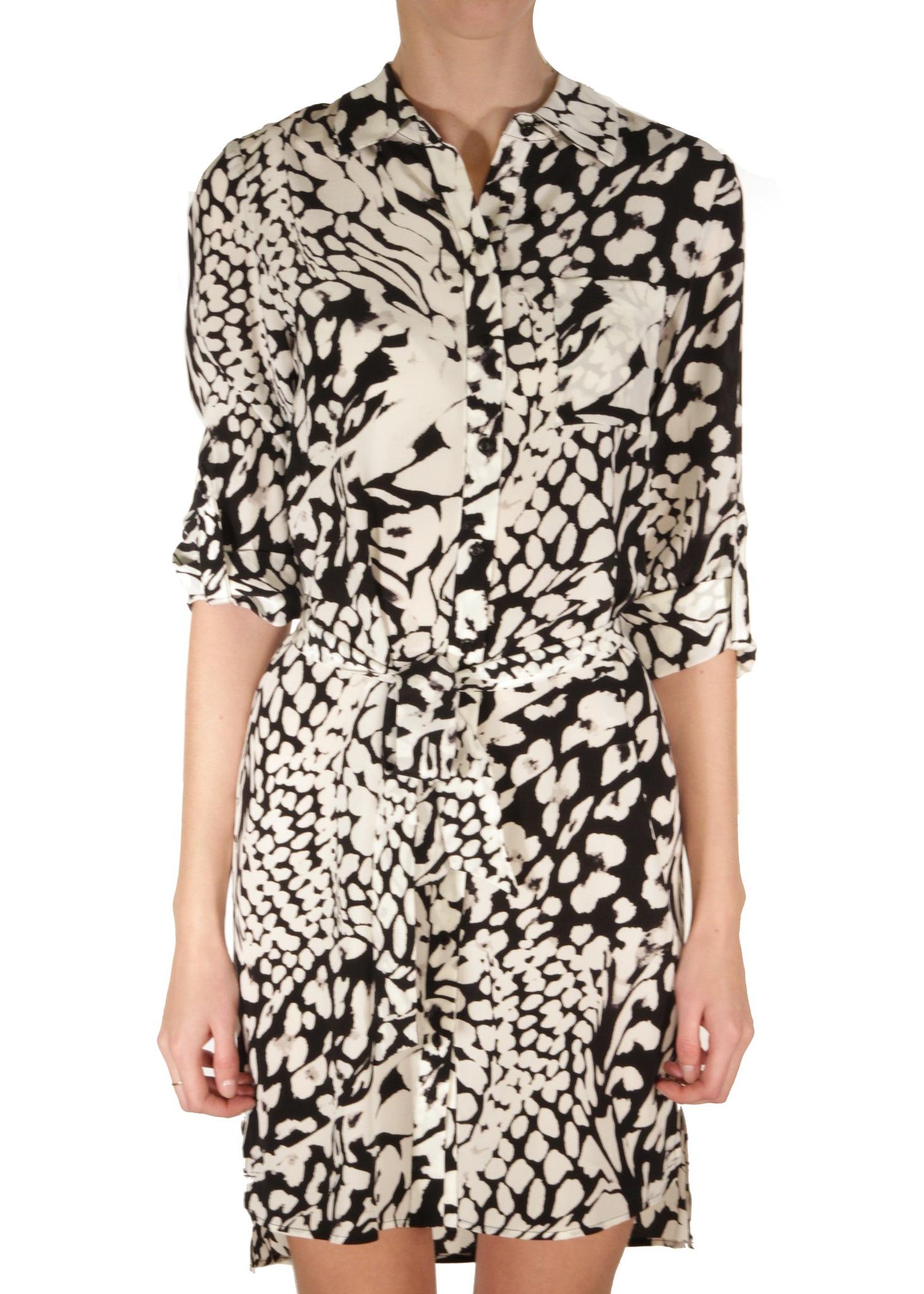 Платье-рубашка из шелка DIANE VON FURSTENBERG