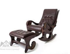Кресло-качалка Грация с банкеткой