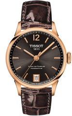 Женские часы Tissot T099.207.36.447.00 Chemin des Tourelles Powermatic 80 Lady