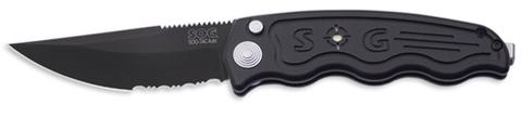 Купить Складной нож SOG Мод. SOG-TAC AUTOMATIC BLACK 97044 по доступной цене