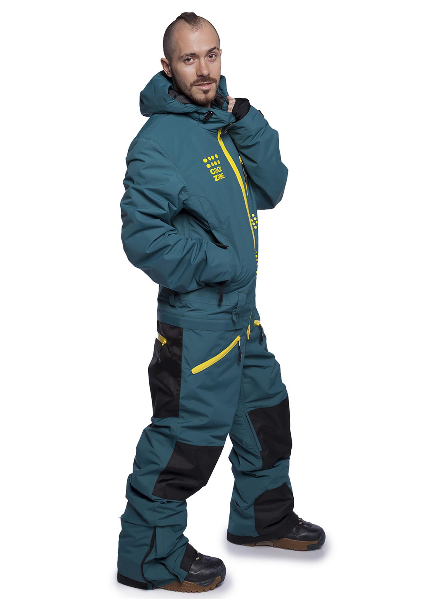 Мужской утепленный сноубордический комбинезон Кул зон кайт  31К28