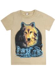 MK003F-32 футболка детская, бежевая