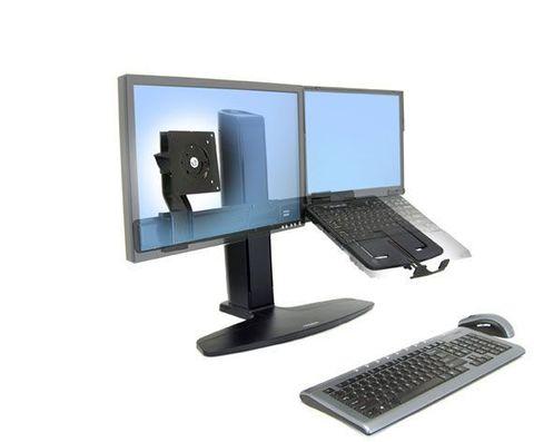 Крепление Ergotron Neo-Flex Lift комбо-стенд для монитора и ноутбука. (Эрготрон 33-331-085)