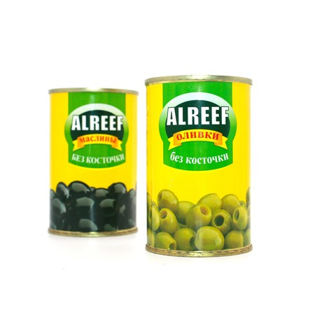 Оливки зеленые Al Reef, 280 г