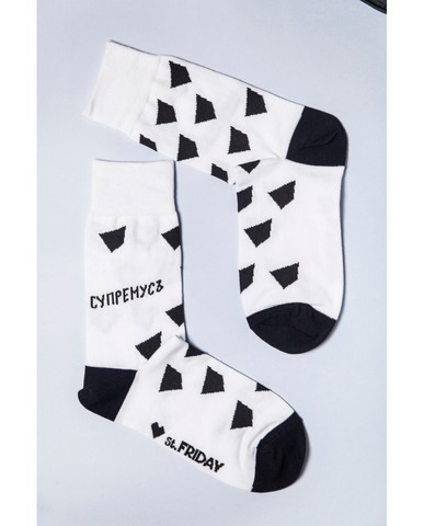 St.Friday Socks Знак общества Супермусъ